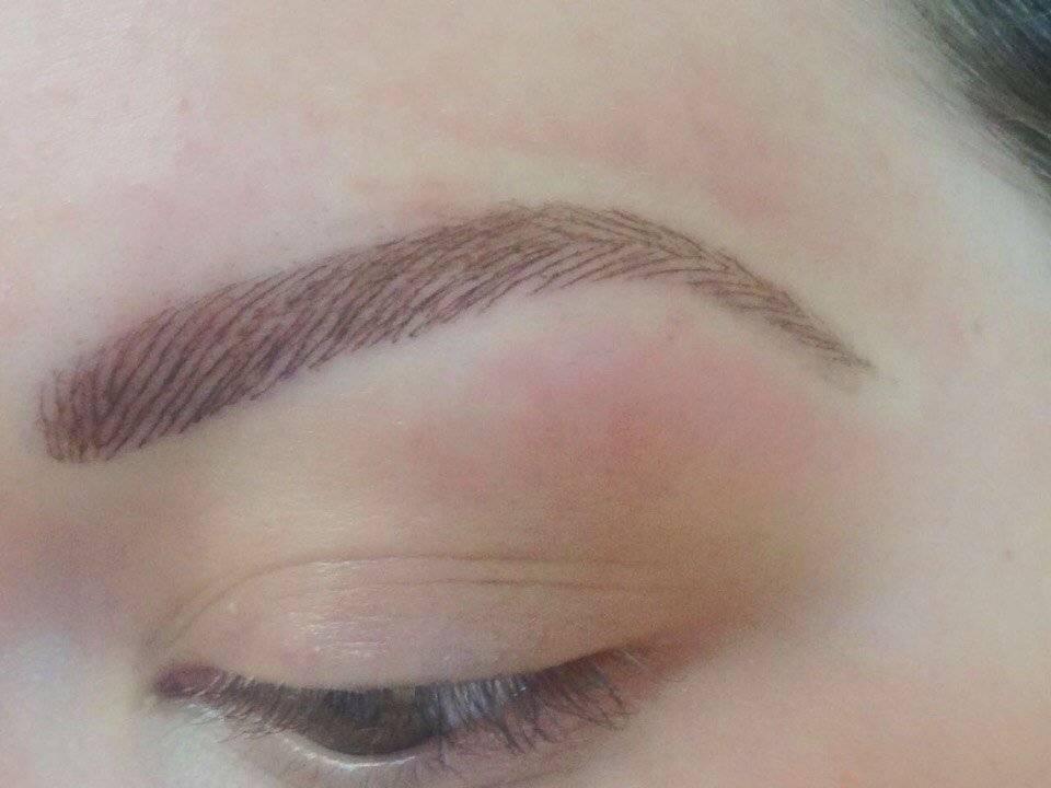 Волосковый метод татуажа бровей: фото до и после, отзывы и обзор процедуры