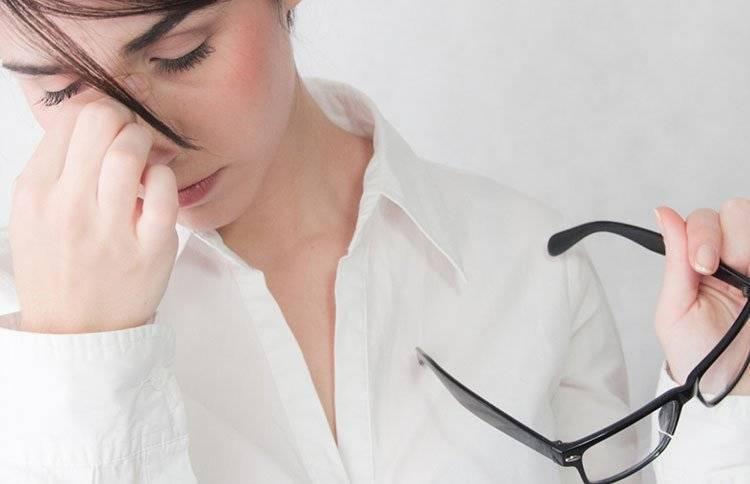 Синдром усталых глаз (астенопия)