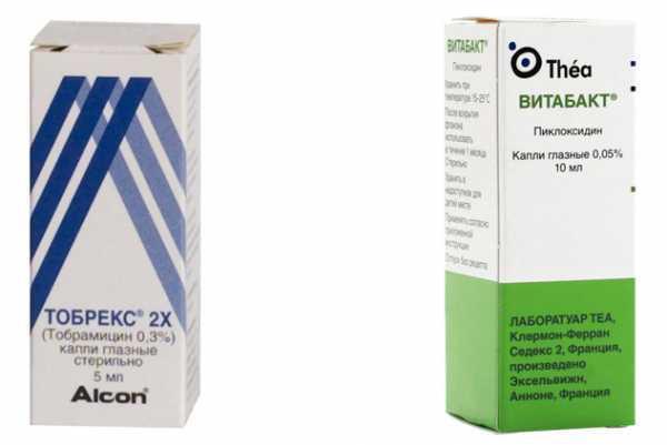 Глазные капли витабакт: состав и способы применения