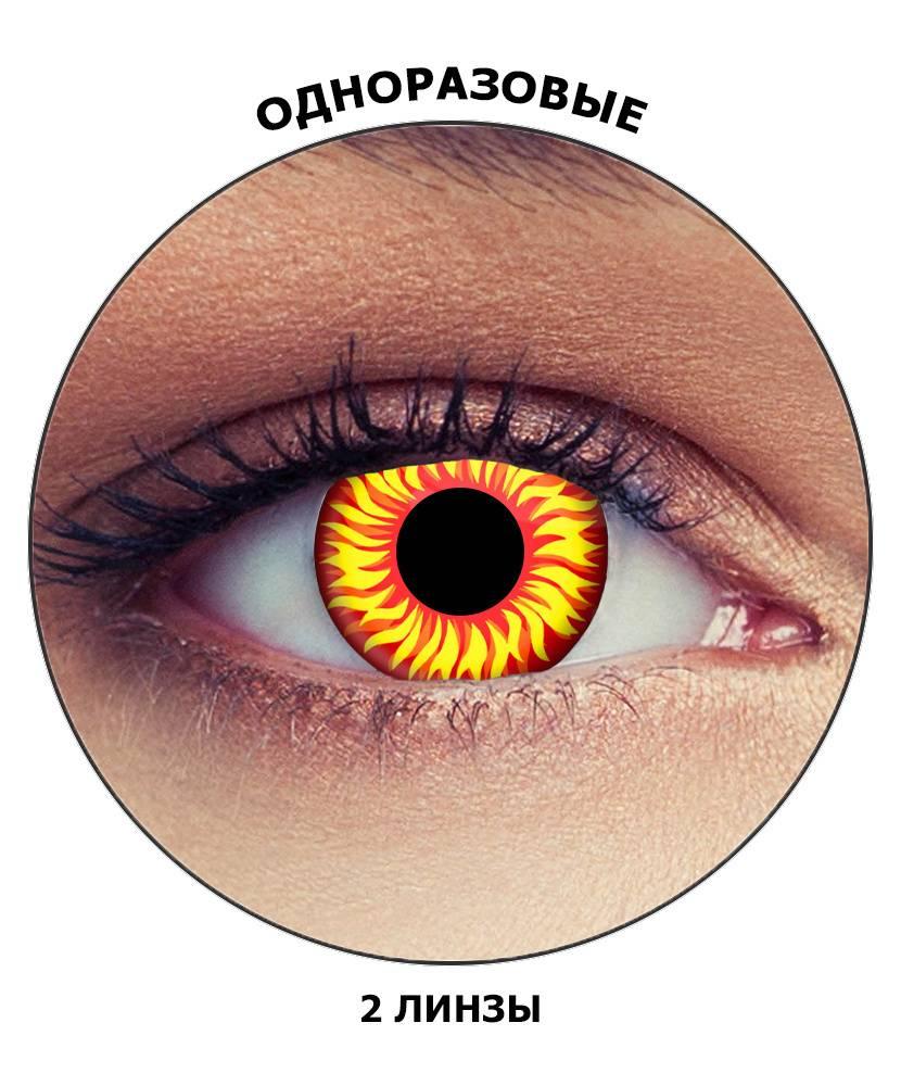 Однодневные цветные линзы контактные с диоптриями для карих глаз фото, отзывы