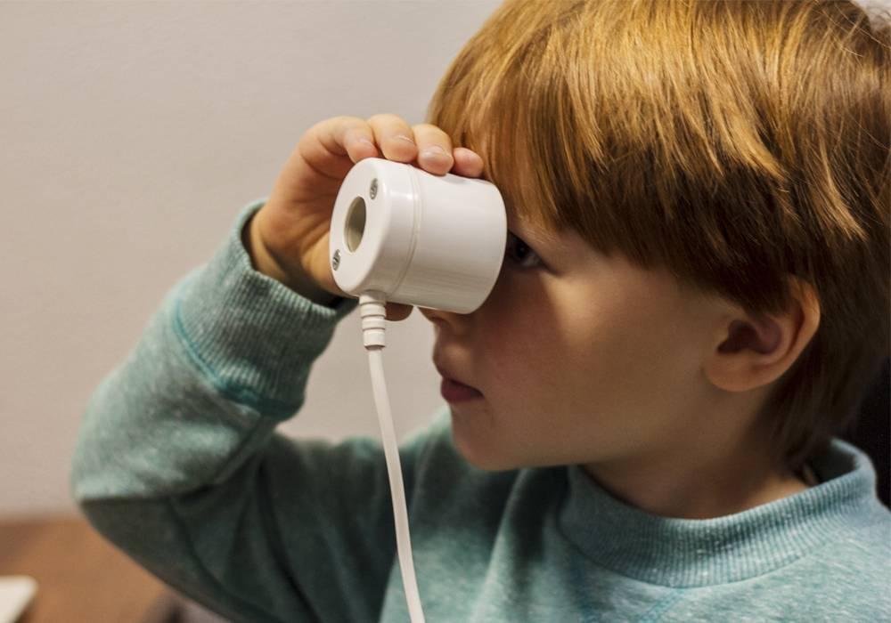 Аппарат для глаз ручеек