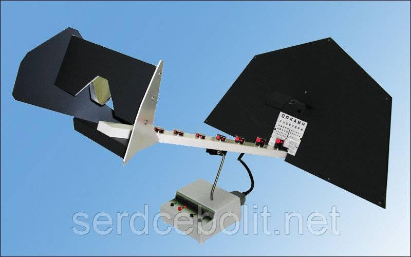 Ручеек - аппарат для тренировки зрения, инструкция, лечение, противопоказания,отзывы, цена
