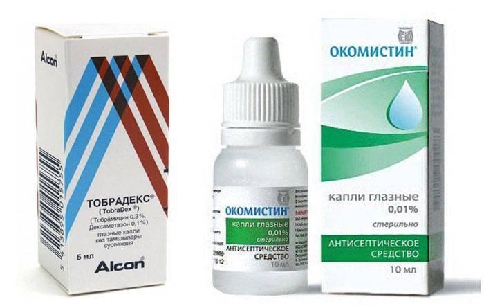 Глазные капли окомистин: инструкция по применению, цена и отзывы - medside.ru