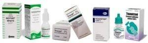 Разновидности и список лучших капель от глазного давления