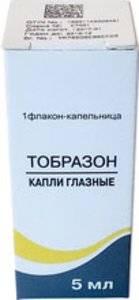Глазные капли тобразон — инструкции по применению