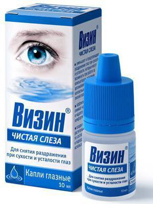 Слеза натуральная (alcon) и аналоги для быстрого увлажнения глаз