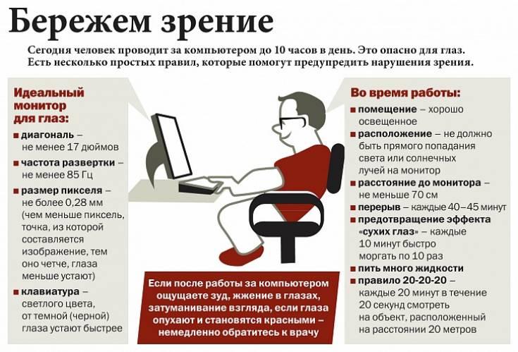 Почему вредно долго сидеть за компьютером и как это исправить