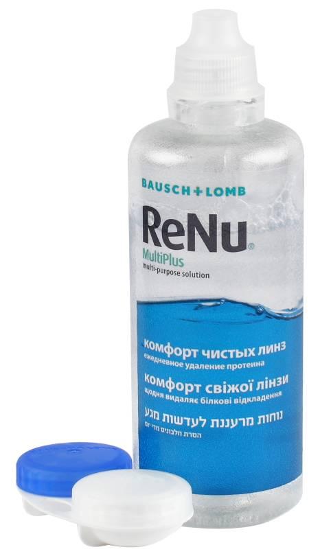Renu раствор для линз контактных: состав жидкости рени bausch lomb, можно ли для чувствительных глаз капли реню multiplus и воду