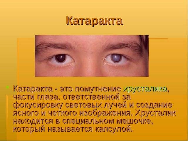 Артифакия глаза - восстановление после операции