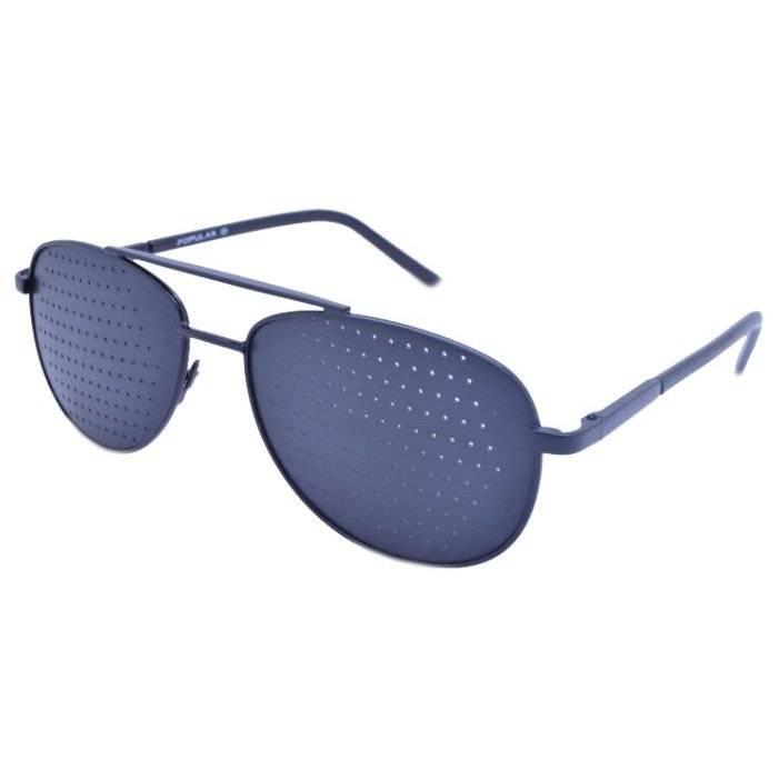 Перфорационные очки при дальнозоркости. перфорационные очки для коррекции зрения: взгляд сквозь «сито