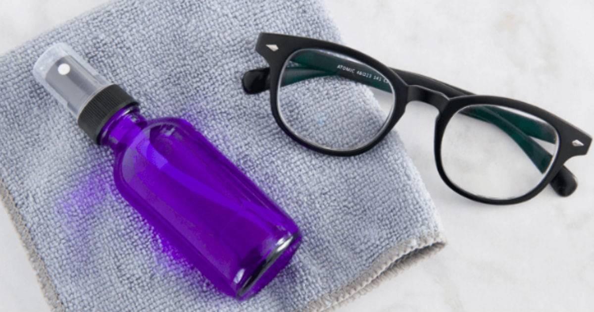 Чем протирать очки, чтобы не было разводов и запотевания?