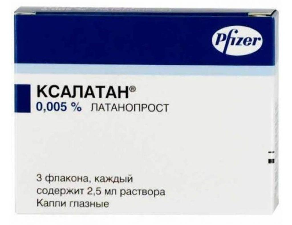 Купить ксалатан капли глазные 0,005% 2,5мл цена от 342руб в аптеках москвы дешево, инструкция по применению, состав, аналоги, отзывы
