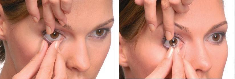 Как снять и надеть контактные линзы правильно - лайфхакер