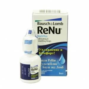 Глазные капли реню (renu)