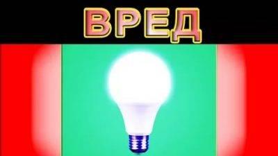 Вред светодиодных ламп – миф или реальность?