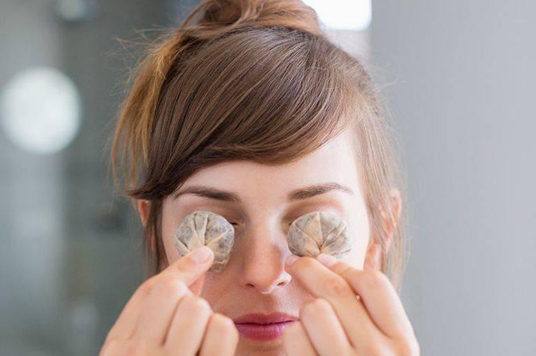 Зеленый чай от отеков под глазами, кругов и синяков: как убрать, отзывы