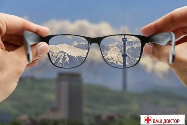 Зрение -3: причины возникновения, способы лечения