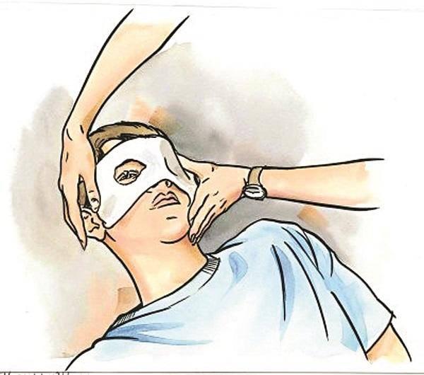 Травма глаза – лечение в домашних условиях
