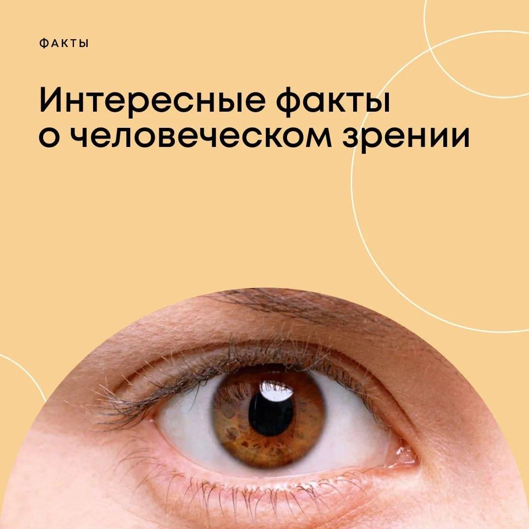 10 интересных фактов о глазах и зрении человека