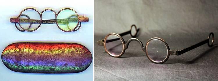 Когда были изобретены очки для коррекции зрения? история создания очков