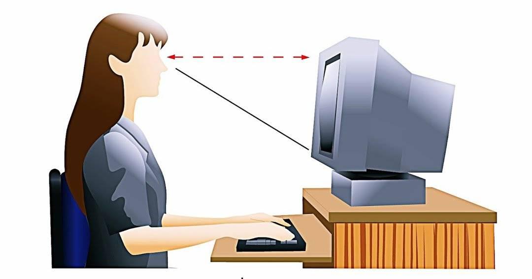 Как настроить монитор чтобы не болели глаза