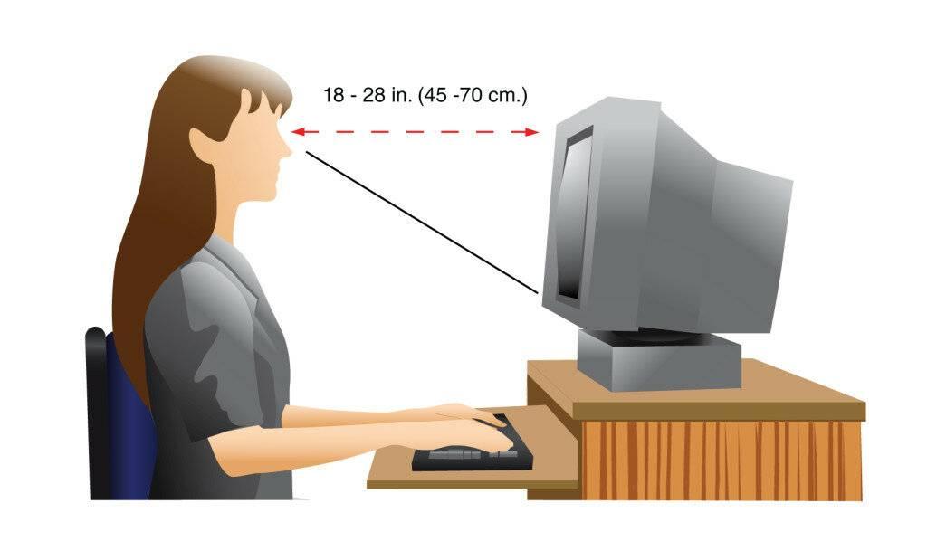 Портится ли зрение от компьютера: почему, что делать
