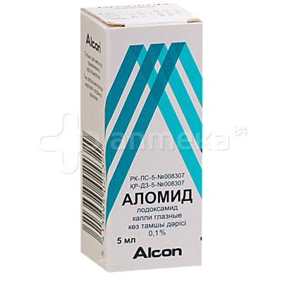 Капли для глаз аломид