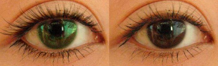 С помощью каких линз можно сделать глаза ярче, не меняя их цвет?