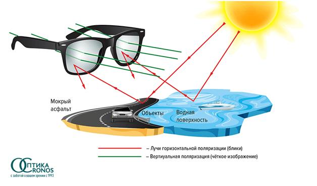 Поляризационные очки – что это? — офтальмология