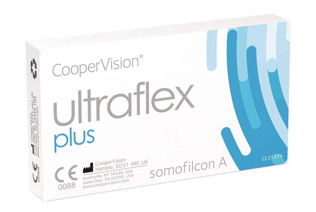 Ultraflex — силикон-гидрогелевые линзы 3 поколения от coopervision.