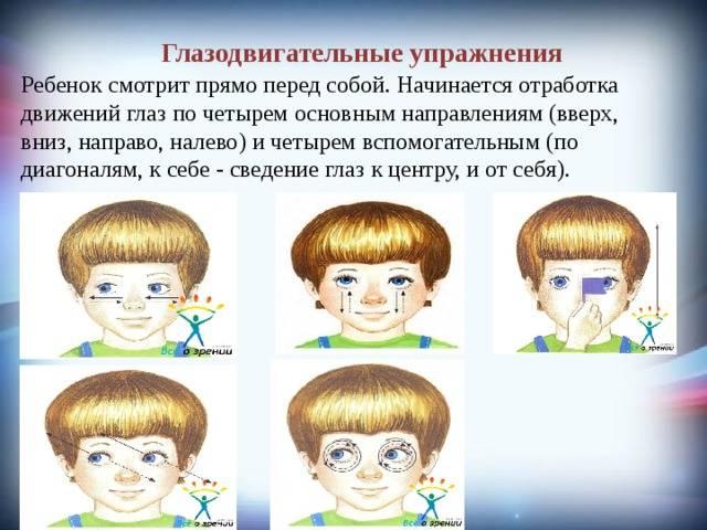 Упражнения от косоглазия для взрослых и детей — глаза эксперт