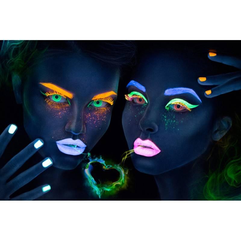 Светящиеся в темноте линзы – гамма цветов, обзор, отзывы - мир здоровья