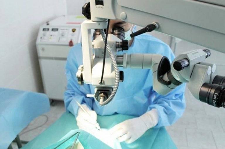 Операция по удалению катаракты глаза в москвеот 36 000 р