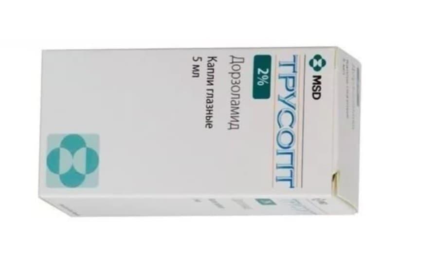 Трусопт — препарат для глаз. инструкции, показания, отзывы и аналоги