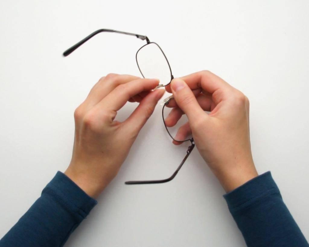 Ремонт оправы очков своими руками
