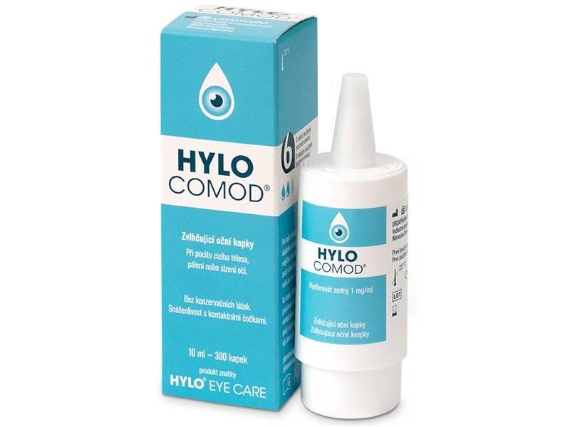 Хило-кеа капли глаз по 10 мл в конт багатодоз с насос: инструкция + цена в аптеках
