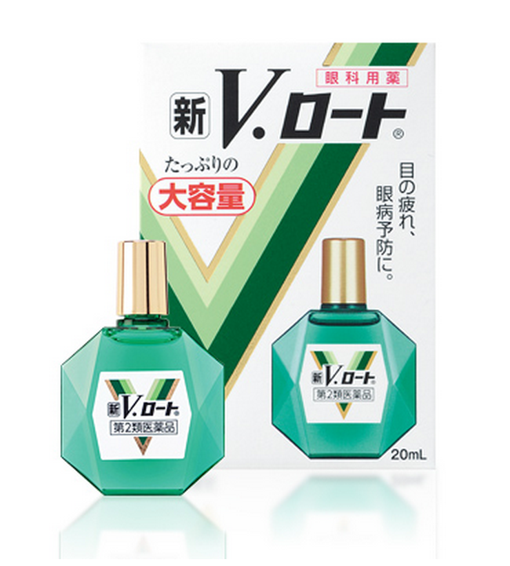 Rohto z! - капли для глаз из японии