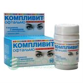 Компливит офтальмо в таблетках для глаз: правила приёма препарата, показания, противопоказания и отзывы