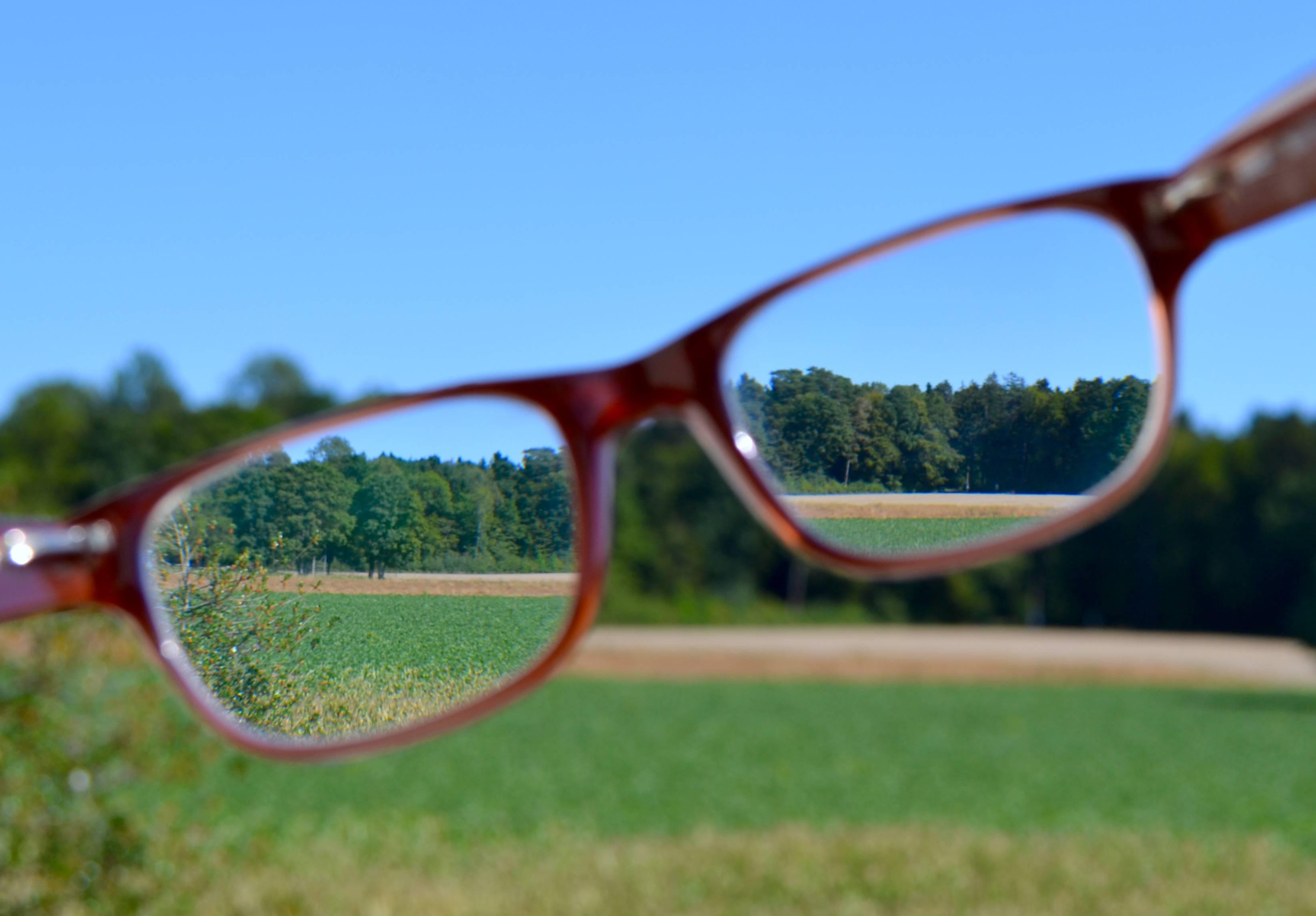 Зрение в очках