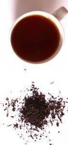 Заварка из черного чая против белых прыщей на веках