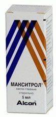 Макситрол - препарат при катаракте
