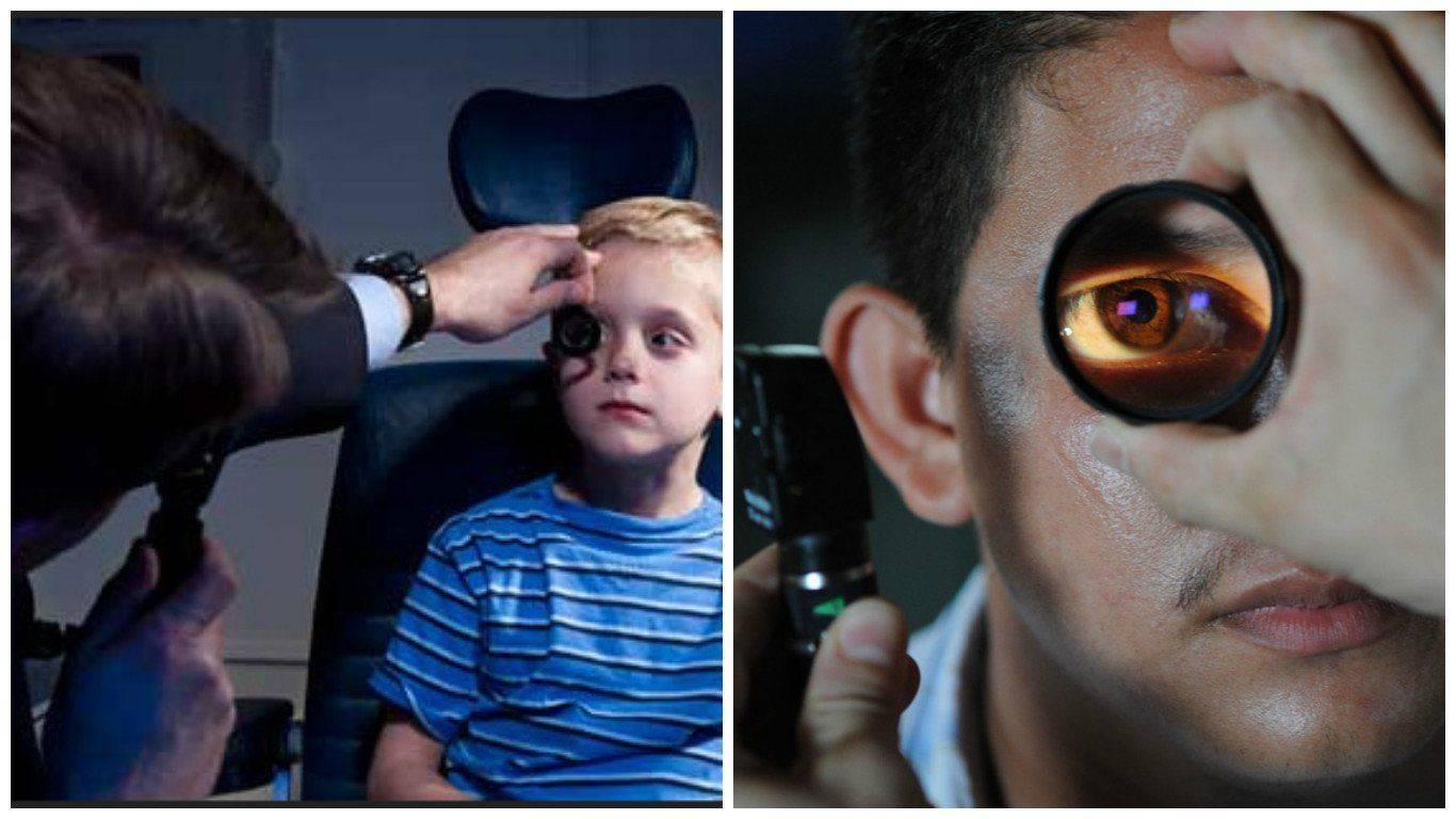 Объективные методы проверки зрения на близорукость