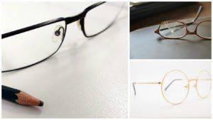 Стеклянные очки