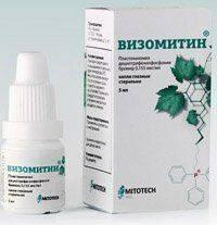 Визомитин - препарат для лечения катаракты