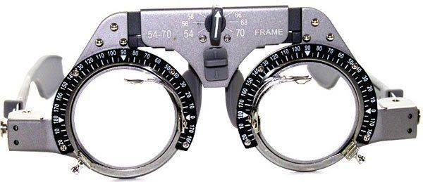 Линзы для проверки зрения