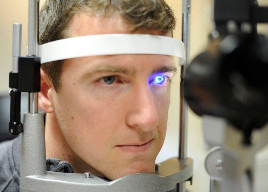 Проверка на врожденную глаукому