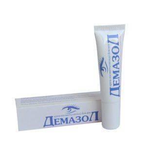 Демазол крем для глаз