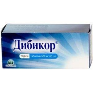 Витамины Дибикор - упаковка