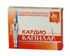 Капилар кардио таблетки