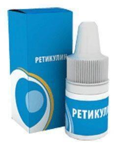 Капли Ретикулин - упаковка